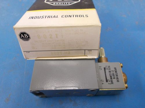 Allen bradley oil tight limit switch, series c, 8002t-h2