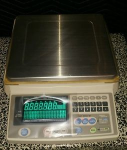 And fc-20ki counting scale max=20kg,50lb d=.002kg,.005lb in unused great cond.
