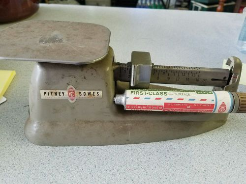 Cool vintage pitney bowes postal scale industrial decor
