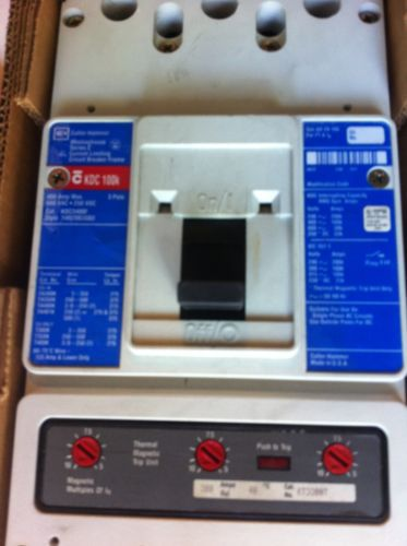 WESTINGHOUSE SERIES C,CIRCUIT BREAKER,KDC 100K,400AMP,600VAC,3 POLE, US $1,750.00 � Picture 2