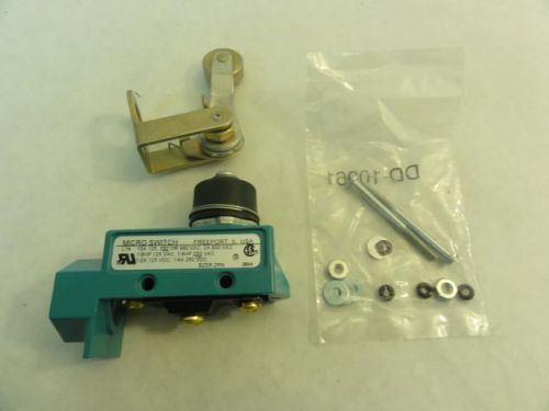 148804 old-stock, microswitch bze6-2rn limit switch, 250vac
