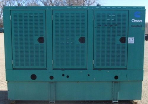 80kw Cummins / Onan Diesel Generator / Genset - Load Bank Tested � Picture 1