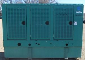 80kw Cummins / Onan Diesel Generator / Genset - Load Bank Tested � Picture 2