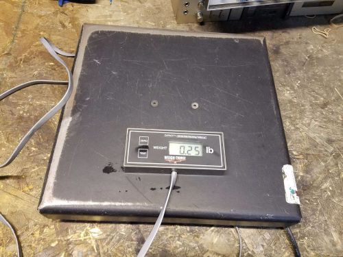 Weigh tronix pro bench scale sc-320