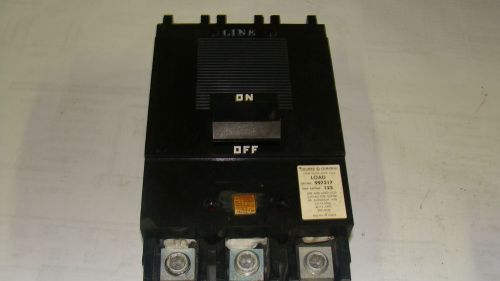 Square D 125 amp 997317 circuit breaker  600VAC � Picture 1
