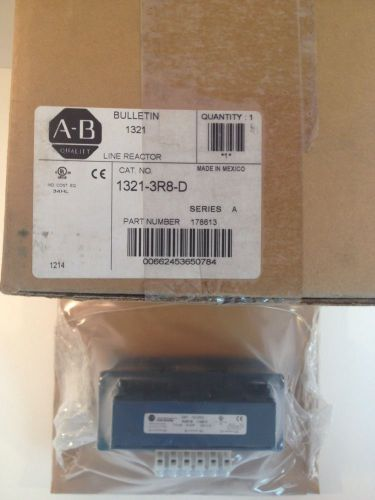 Allen Bradley 1321-3R8-D 3 Phase Line Reactor 600v Series A, US $75.00 � Picture 1