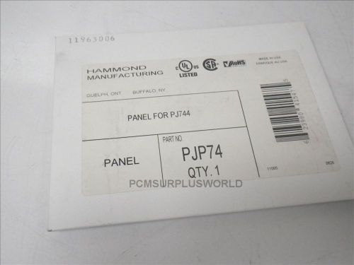 Pjp74 hammond manufacturing flat panel for pj744 (new in box)