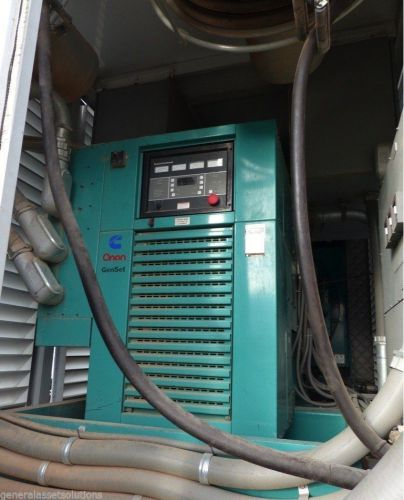 97hrs cummins onan diesel generator 600kw enclosed 900hp genset vta28g5 can ship