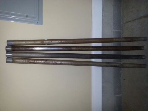 Shopsmith vintage mark vii way and bench tubes set of 4 used