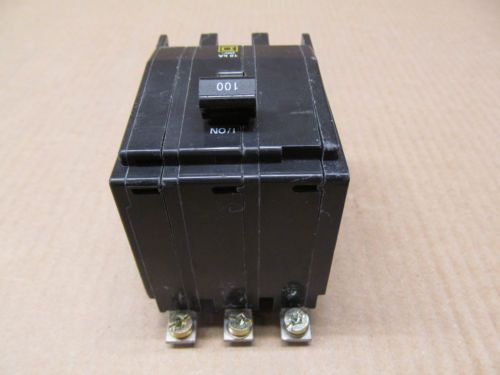 1 SQUARE D QOB QOB3100 100 AMP 3 POLE 240 VAC CIRCUIT BREAKER, US $29.50 � Picture 3