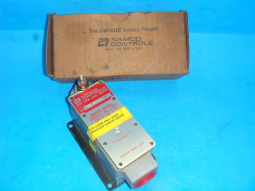 New namco controls snap lock limit switch ea700 50100, new in box