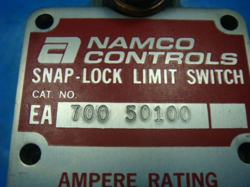 NEW NAMCO CONTROLS SNAP LOCK LIMIT SWITCH EA700 50100, NEW IN BOX, US $119.99 � Picture 2