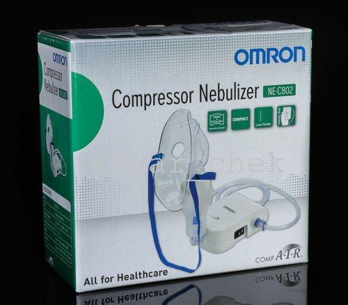 Omron Portable Adult/Kid Nebulizer - NE-C803 - Respiratory Medicine Inhaler, US