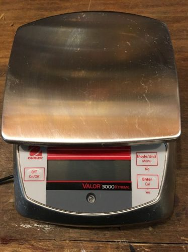 New ohaus portable valor 3000 xtreme compact food scale