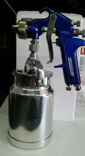 Speedaire siphon spray gun kobalt blue