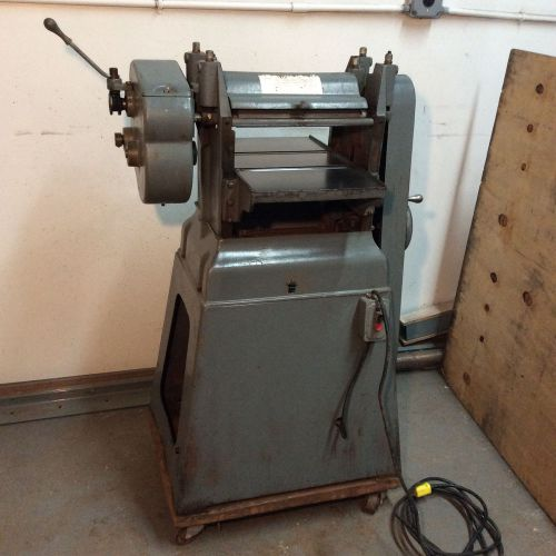 "Parks 12"" planer w/stand on wheels"