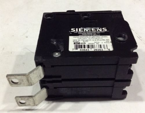 B220 Siemens / ITE Type BL Bolt-On Circuit Breaker 2 Pole 20 Amps 240V, US $12.99 – Picture 6