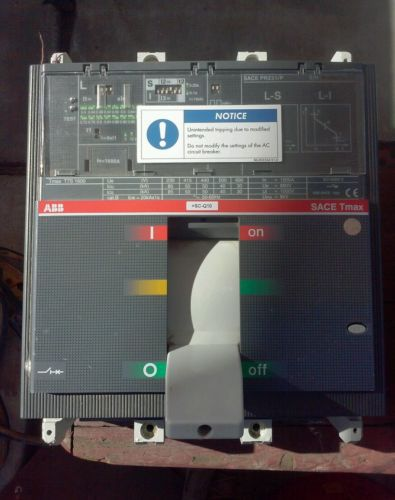 ABB Sace  Tmax T7S 1600A Circuit Breaker PR231/P - USED, US $300.00 – Picture 2