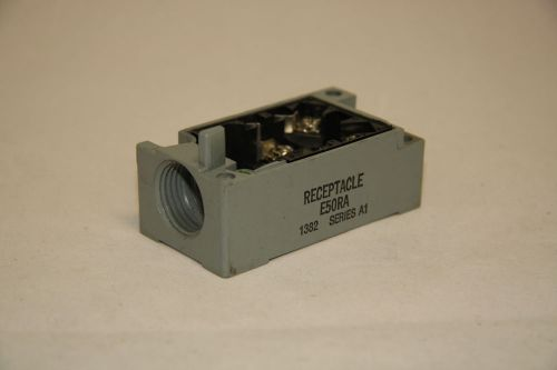 Cutler hammer e50ra limit switch receptacle series a1 new e50