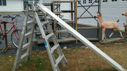 Aluminum ladder and scaffolding