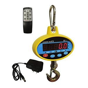Berman hanging industrial crane scale 300 kg / 600 lb with remote control