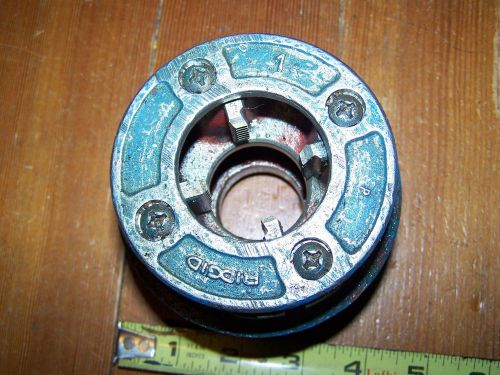 "Ridgid 12-r manual ratchet pipe threader 1"" die only"