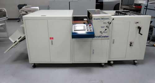 Graphic whizard vividcoater xdc 660a uv coating system � tec lighting olec
