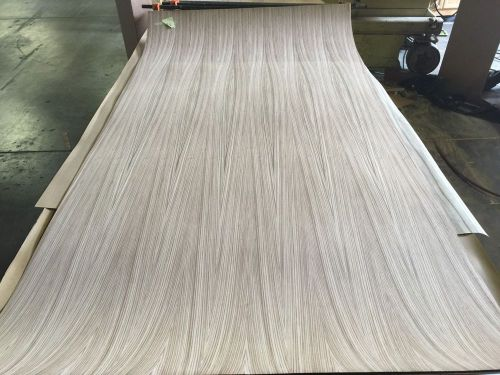 "Wood veneer zebrawood 48x96 1 piece 10mil paper backed ""exotic"" box 7 # 20"