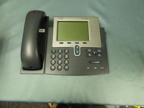 Lot 14 cisco cp-7941 business office 2-line lcd ip phones no adapters parts (pb)