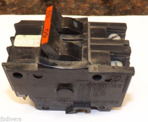 Federal Pacific 60-Amp 2-Pole 240-Volt NA STAB-LOK Circuit Breaker � Picture 2
