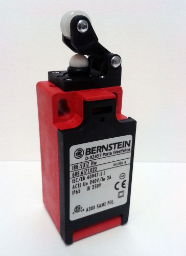 Bernstein 188-su1z hw safety limit switch w. roller lever actuator 608.6171.022