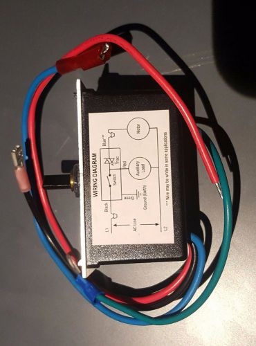 Motor Speed Regulators Controllers Motor Controlling Products