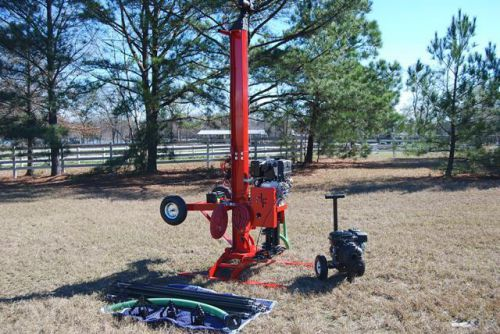 Well Drilling Rig Drill Equipment Driller Tool Deep Rock Boring Clean Water Pump – Picture 1
