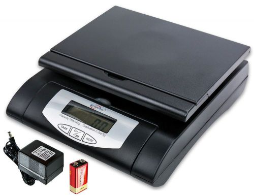 Weighmax 75 lbs. digital shipping postal scale black (w-4819-75 black)