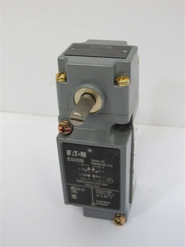 Eaton e50rb, limit switch receptacle