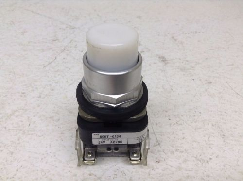 Allen bradley 800t-qa24 white illuminated push button 800tqa24 800t
