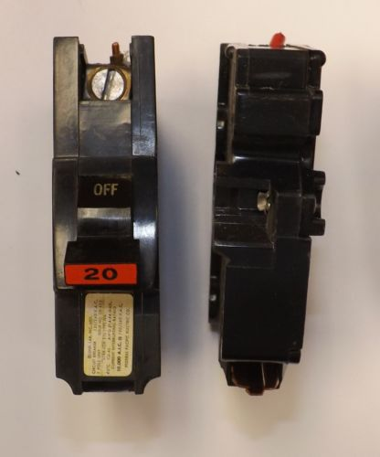 Federal Pacific 20-Amp 1-Pole 240-Volt NA STAB-LOK Circuit Breaker NEJ233200 � Picture 4