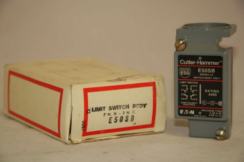 Cutler Hammer E50SB Limit Switch Contact Body 600V Nema B600 Pilot Duty NIB, US $69.00 � Picture 1