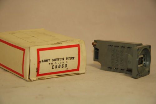 Cutler Hammer E50SB Limit Switch Contact Body 600V Nema B600 Pilot Duty NIB, US $69.00 � Picture 2