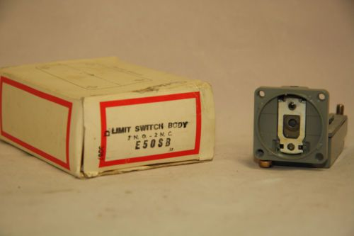 Cutler Hammer E50SB Limit Switch Contact Body 600V Nema B600 Pilot Duty NIB, US $69.00 � Picture 3