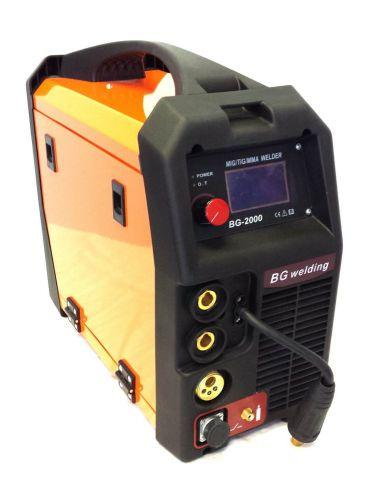 Simadre igbt pwm digital mig/tig/mma/arc welding machine (bg-2000) .