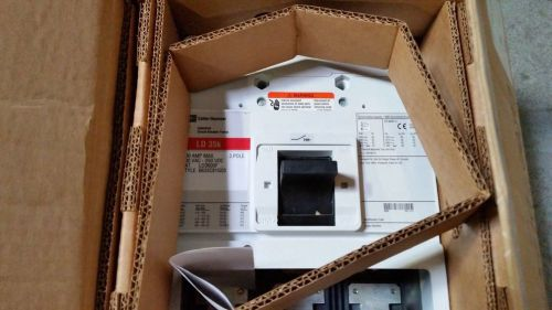 Cutler-hammer ld3600f 3-pole industrial circuit breaker frame ld35k new in box