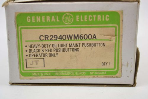 NEW GENERAL ELECTRIC GE CR2940WM600A OILTIGHT MAINTAINED PUSHBUTTON B412836, US $33.18 � Picture 3