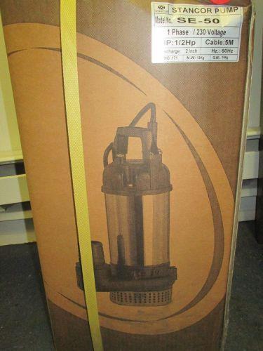 Stancor Elevator Pit Systems Product Se 50 O M Elv