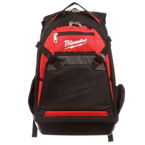 Milwaukee Job Site Backpack Red Black 48-22-8200 NWT � Picture 1
