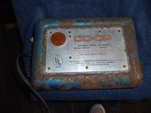 Vintage Co Op Electric Fence Controller Universal Co