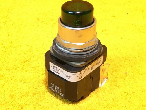 ***perfect*** allen bradley 800t-pb16 green lighted pushbutton 800t-xa 800t-n326