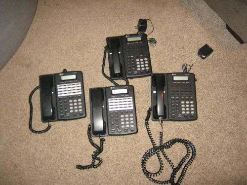 4 at&t pro corded 4 line telephone speakerphone 954 business office phones lot
