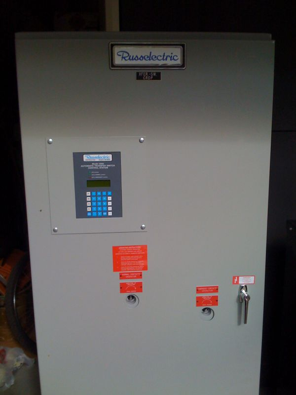 Russelectric model 2000 automatic transfer switch control system (rmtd-2604ce)