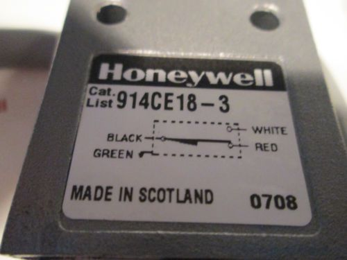 Honeywell Microswitch 914CE18-3 Limit Switch 914CE18-3 (NEW), US $49.99 � Picture 3